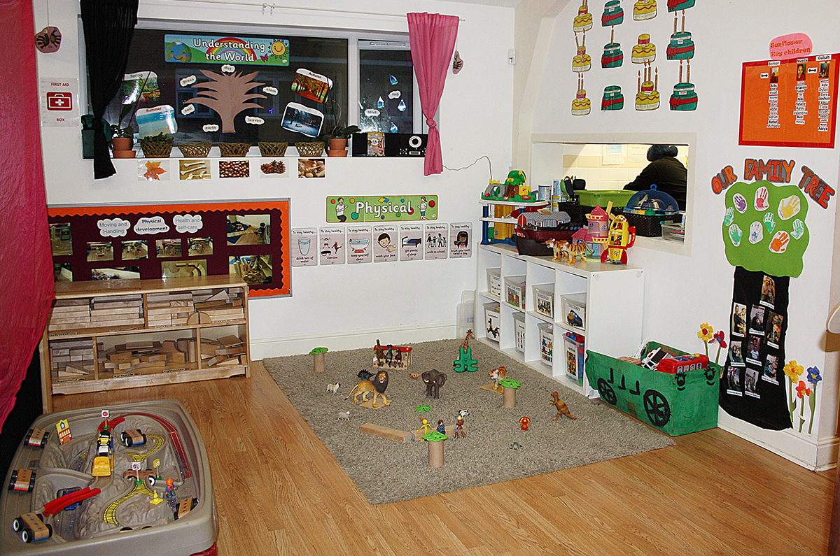 Our play area